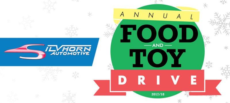 Silvhorn Automotive Food Toy Drive 2017