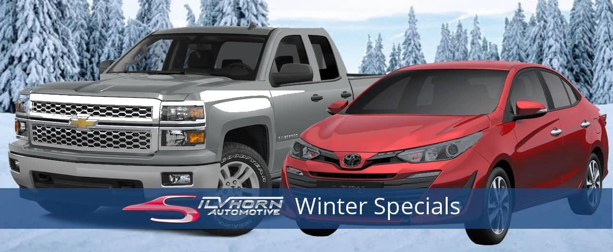 Silvhorn Automotive Winter Specials